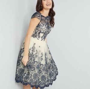 This elegant dress is perfect for a fancy event!
